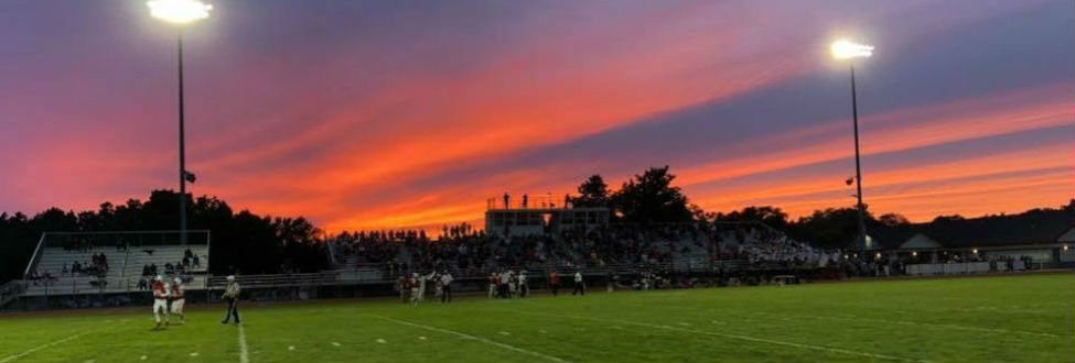 Whitehall football sunset 2018